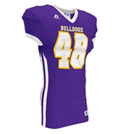Russell Adult Compression Color Block Game Jersey