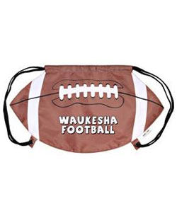 Drawstring Backpack Football