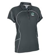 Womens Team Prestige Polo by Russell Athletic