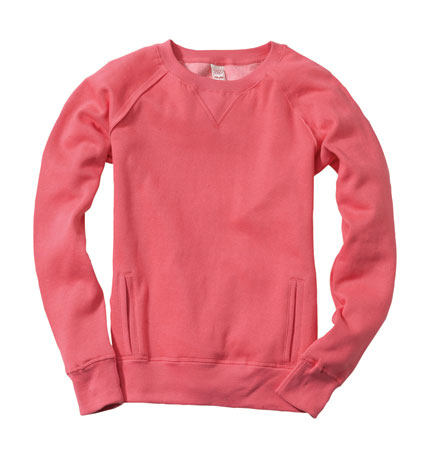Crewneck Washed MIA Sweatshirt - Ladies