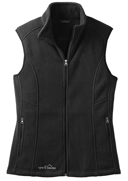Eddie Bauer® Full Zip Fleece Vest - Ladies