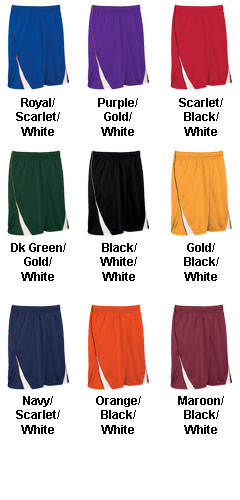 Teamwork Adult Finger Roll 9 Inch Reversible Basketball Short  - All Colors