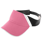 Adult Athletic Mesh and Dazzle Stripe Visor