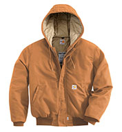 Carhartt Flame Resistant Duck Active Jacket with Quilt Lining