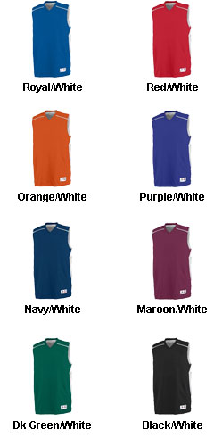 Augusta Adult Slam Dunk Reversible Jersey  - All Colors