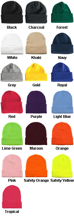 Long Knit Beanie - All Colors