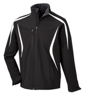 Mens North End Color-Block Soft Shell Jacket