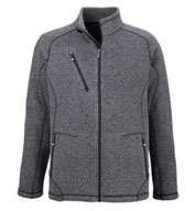 Peak Mens Sweater Fleece Jacket