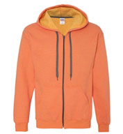 Gildan Missy Fit Heavy Blend™ Vintage Full-Zip Hooded Sweatshirt