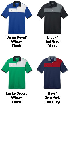 Nike Golf Dri-FIT Sport Colorblock Polo - All Colors