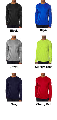 New Balance Mens Tempo Long-Sleeve Performance T-Shirt - All Colors