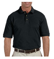 Mens Ringspun Cotton Pique Short-Sleeve Polo in Tall Sizes