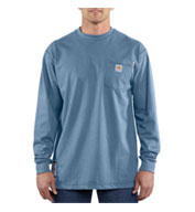 Flame Resistant Force Cotton Long Sleeve T-shirt by Carhartt