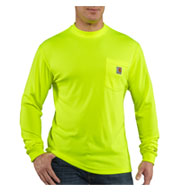 Carhartt Mens Force™ Color Enhanced HI Visibility T-Shirt