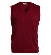 Edwards Unisex V-Neck Sweater Vest