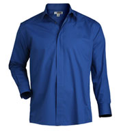 Mens Cafe Long Sleeve Shirt