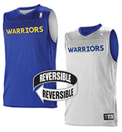 Team NBA Golden State Warriors Adult Reversible Jersey