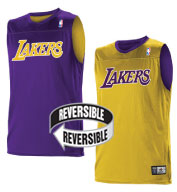 Team NBA Los Angeles Lakers Adult Reversible Jersey