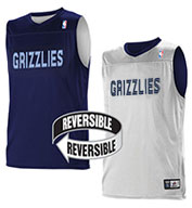 Team NBA Memphis Grizzlies Adult Reversible Jersey