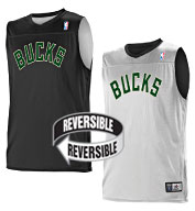 Team NBA Milwaukee Bucks Adult Reversible Jersey