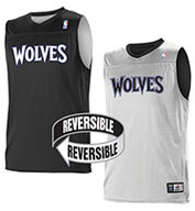 Team NBA Minnesota Timberwolves Adult Reversible Jersey