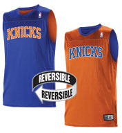 Team NBA New York Knicks Adult Reversible Jersey