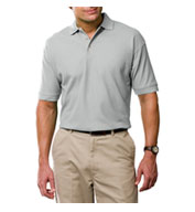 Mens Tall Egyptian Ringspun Cotton Pique Polos