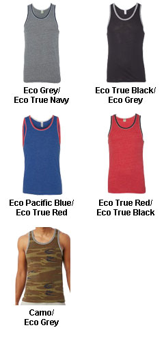 Alternative Apparel Eco Jersey Double Ringer Tank  - All Colors