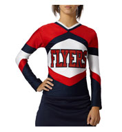 Womens Shock Figure Fit Cheer Top