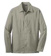 Eddie Bauer® Long Sleeve Performance Travel Shirt