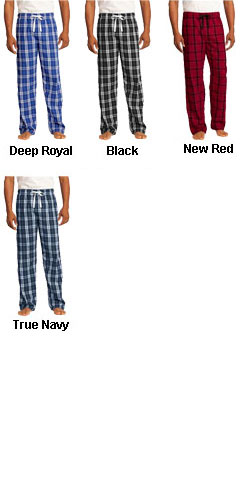 District Young Mens Flannel Plaid Pajama Pants - All Colors