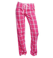 District Juniors Flannel Plaid Pajama Pants