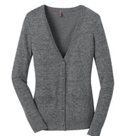 District Made™ Ladies Cardigan Sweater