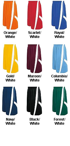 Adult Fusion Reversible Game Short - All Colors