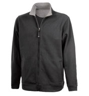 Mens Onyx Full Zip Sweatshirt by Charles River Apparel