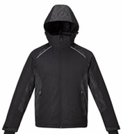 Mens Insulated Jacket with Print