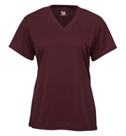 Badger B-Core Ladies Shortsleeve V-Neck Tee
