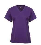Badger B-Core Girls Shortsleeve V-Neck Tee