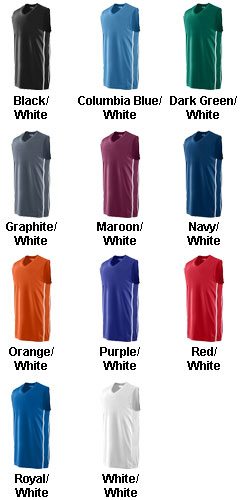 Adult Winning Streak Basketball Game Jersey - All Colors