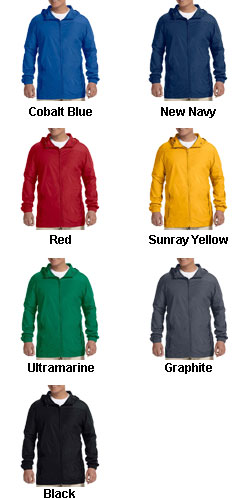 Harriton Mens Rain Jacket - All Colors