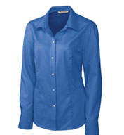 Ladies Easy Care Nailshead Dress Shirt