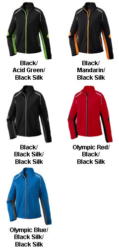 Dynamo Ladies Hybrid Performance Soft Shell Jacket - All Colors
