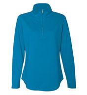 Ladies French Terry Quarter-Zip Sweater