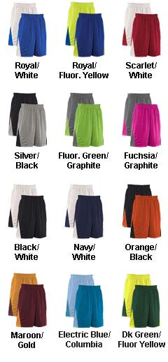 Adult Turnaround Reversible Basketball Short - All Colors