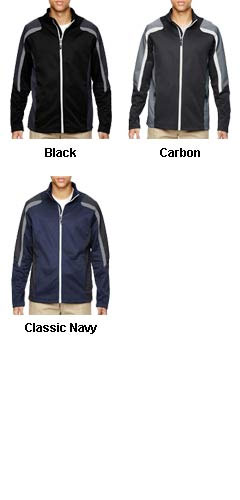 Mens Strike Color-Block Fleece Jacket - All Colors
