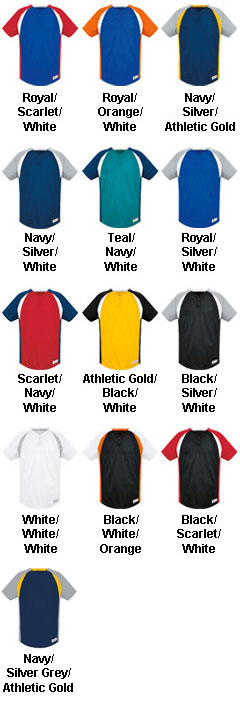 Youth Gravity Two Button Jersey - All Colors