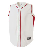 Holloway Adult Fierce Full Button Jersey