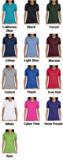 Jerzees Ladies 50/50 Jersey Polo with SpotShield™ - All Colors