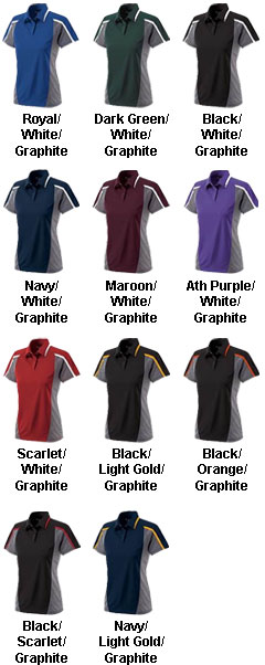 Ladies Align Polo from Holloway USA - All Colors