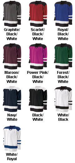 Holloway Adult Faceoff Hockey Jersey  - All Colors